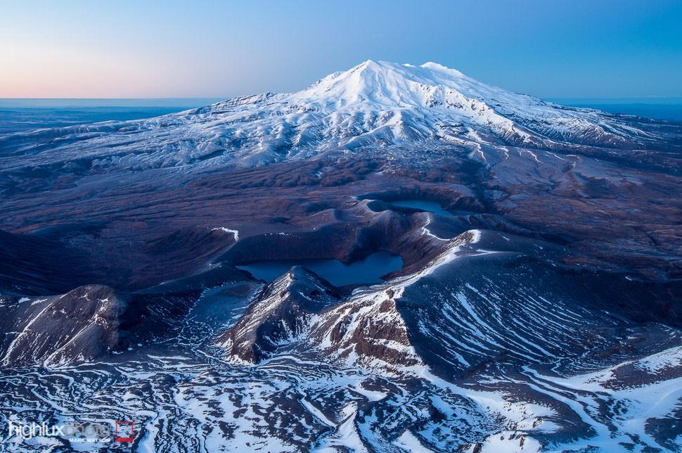 از کوه های آتشفشانی تا کیوی در معرض خطر در پارک نیوزیلند