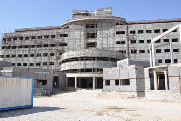 80 درصد از تجهیزات بیمارستان جدید یاسوج خریداری و نصب شده است
