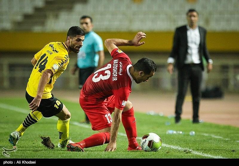 لیگ برتر فوتبال، پیروزی دوباره سپاهان مقابل نساجی، بازگشت 2 امتیاز در دقایق تلف شده