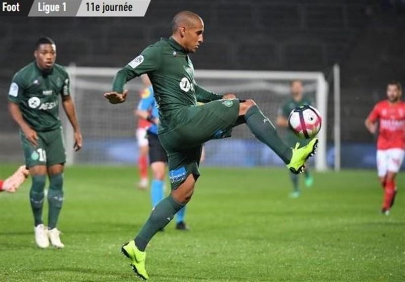 فوتبال دنیا، سن اتین در خانه نیم امتیاز گرفت