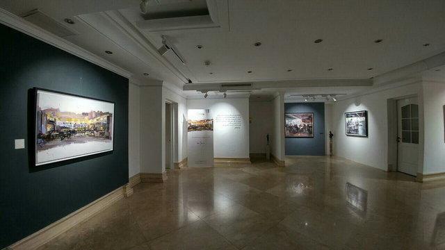 کافه های تهران موضوع یک نمایشگاه نقاشی