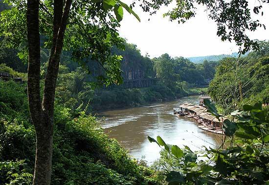 رودخانه کوای تایلند