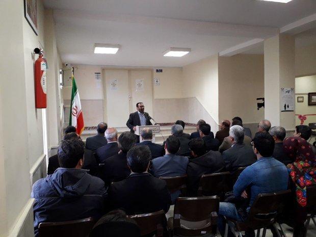 نمایشگاه خوشنویسی نجوای قلم آثار امیر نورش در اهر افتتاح شد