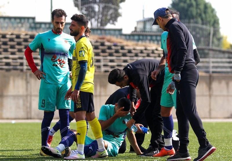 خبر بد برای گل محمدی؛ مصدومیت شدید مدافع پدیده