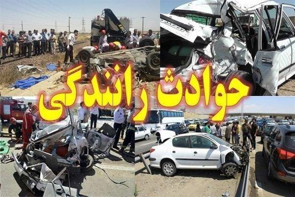 تصادفات جاده ای؛ در صدر حوادث همدان