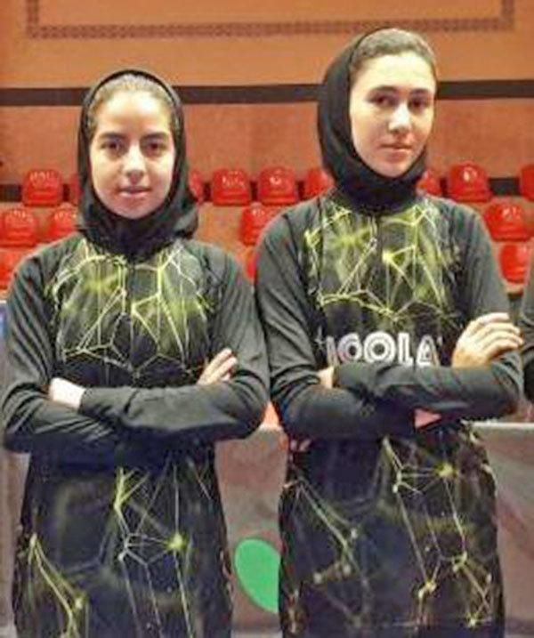 انتها تورهای ایرانی تنیس روی میز نوجوانان و جوانان دختر ایران با معرفی قهرمانان