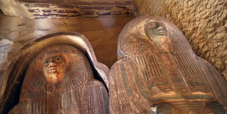 کشف مقبره 4500 ساله در مصر