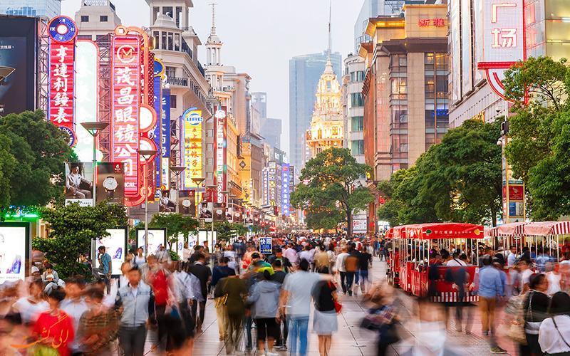 آشنایی با خیابان های معروف شانگهای چین