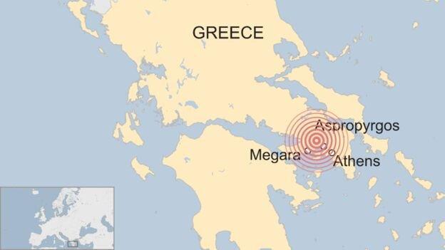 پایتخت یونان 5.1 ریشتر لرزید