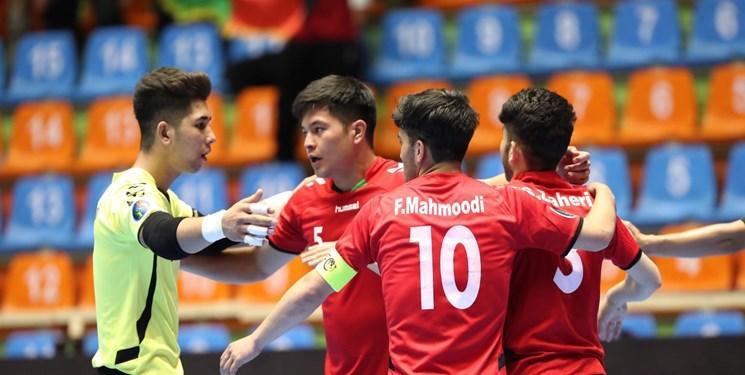 شگفتی فوتسال آسیا، رجحان افغانستان برابر تایلند