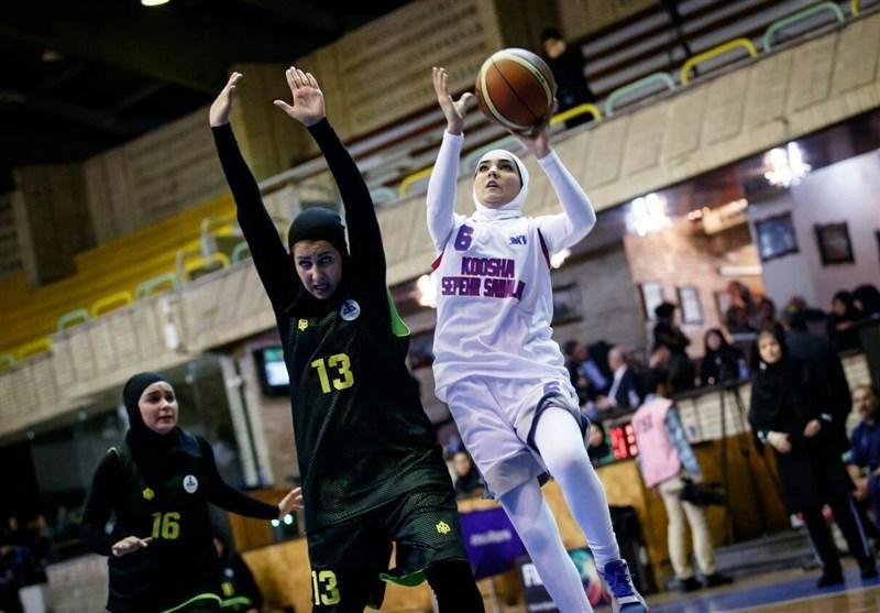 بسکتبال قهرمانی زیر 18 سال دختران آسیا، پیروزی ایران برابر سنگاپور