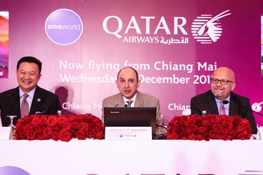 گسترش همکاری هواپیمایی قطر ایرویز با تایلند