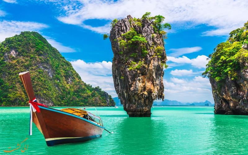 آشنایی با زیباترین جزایر تایلند