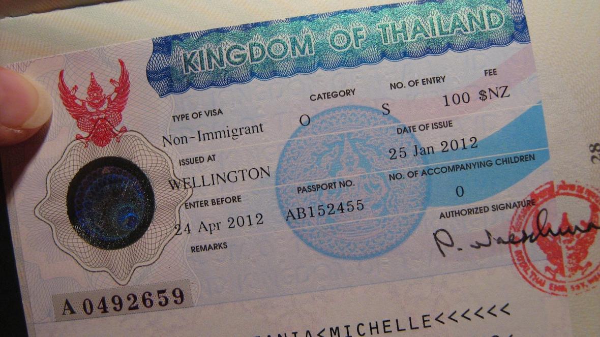 آشنایی با ویزای توریستی تایلند