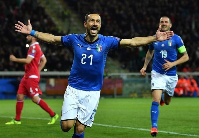 سنسی غایب بازی های پیش روی آتزوری، رونمایی از پیراهن سبز ایتالیا