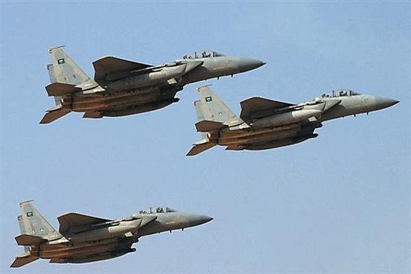 حملات گسترده جنگنده های سعودی به الحدیده یمن