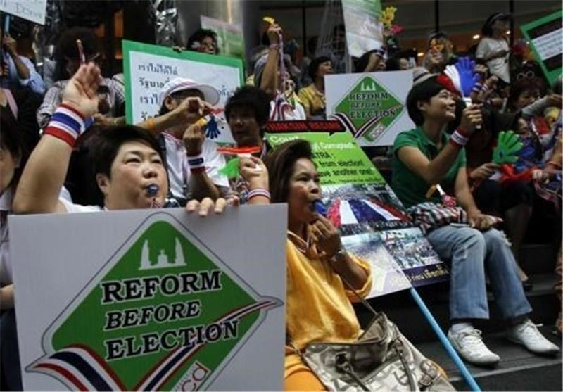 تهدید مخالفان دولت تایلند به تعطیل کردن بازار بورس