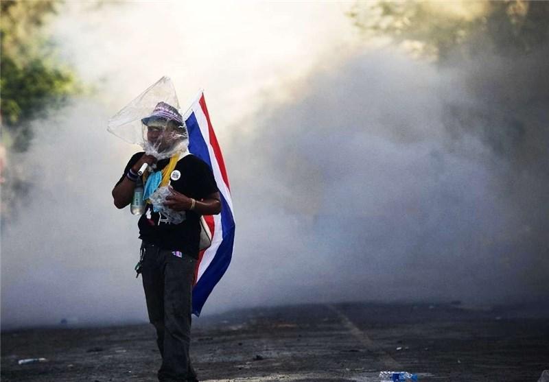 رهبر مخالفان دولت تایلند زخمی شد