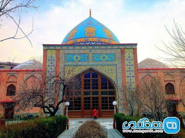 مسجد کبود، مسجدی پارسی در قلب ارمنستان باشکوه