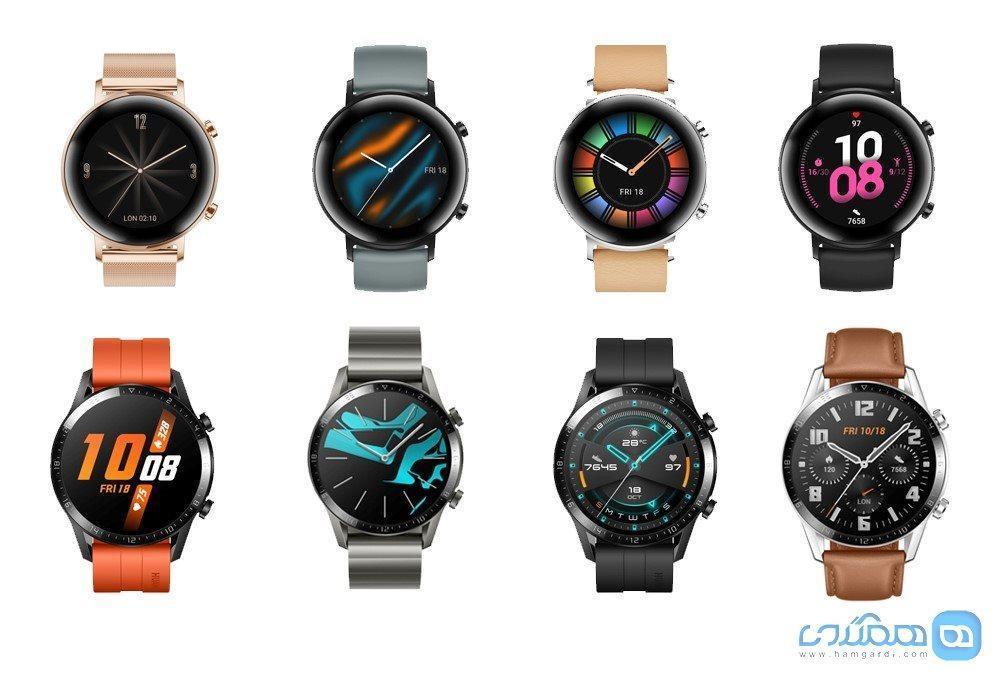 ساعت هوشمند Watch GT 2 هوآوی معرفی گردید؛ دو هفته دوام باتری