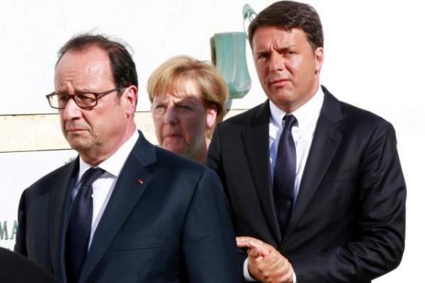 امنیت اتحادیه اروپا، محور اصلی نشستِ رنتزی-اولاند- مرکل