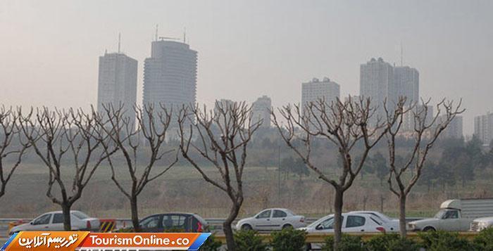 فردا جمعه هوای تهران آلوده است