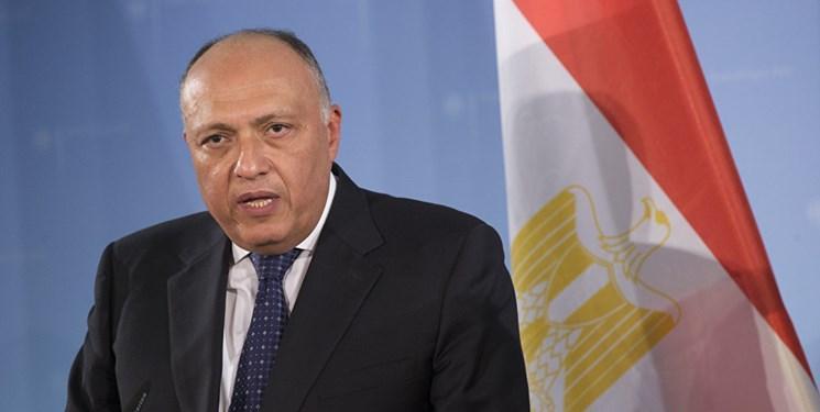 وزیر خارجه مصر: حمله ترکیه، نقض حاکمیت سوریه است