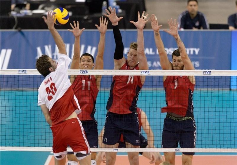 پنجمین پیروزی متوالی آمریکا و شکست سنگین ایتالیا