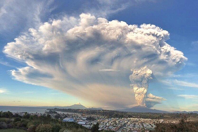 انسان ها 100 برابر آتشفشان ها دی اکسیدکربن فراوری می نمایند