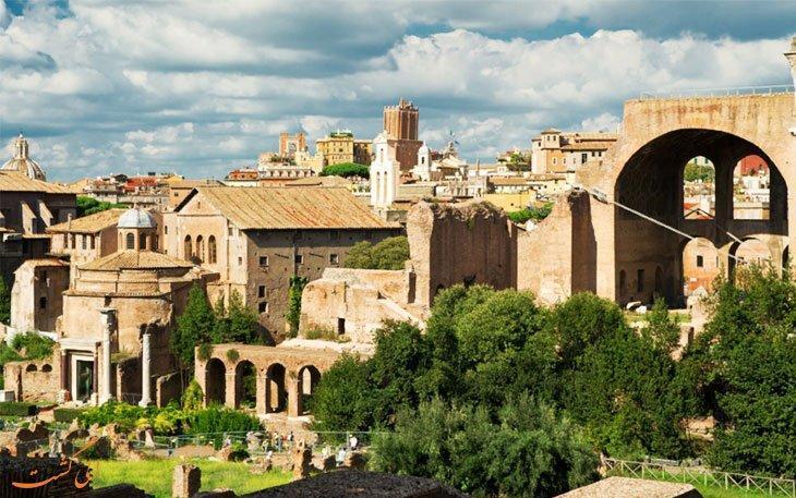 پالاتیوم، تپه افسانه های رم