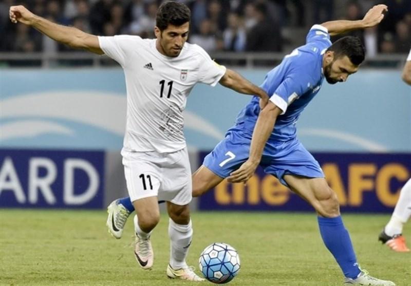 اعلام فهرست بازیکنان ازبکستان برای بازی با تایلند و ایران، جپاروف هم هست