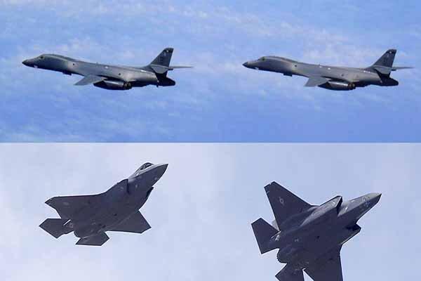 پرواز گسترده جنگنده های آمریکایی بر فراز غرب عراق
