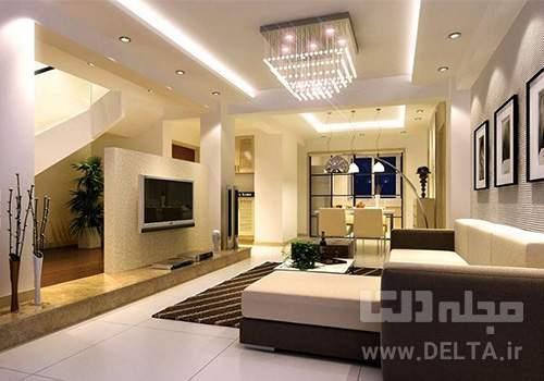 ایده هایی برای نورپردازی منزل
