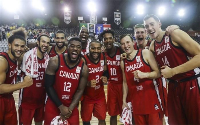 انتخابی جام جهانی بسکتبال؛ کانادا در خاک برزیل جشن صعود گرفت