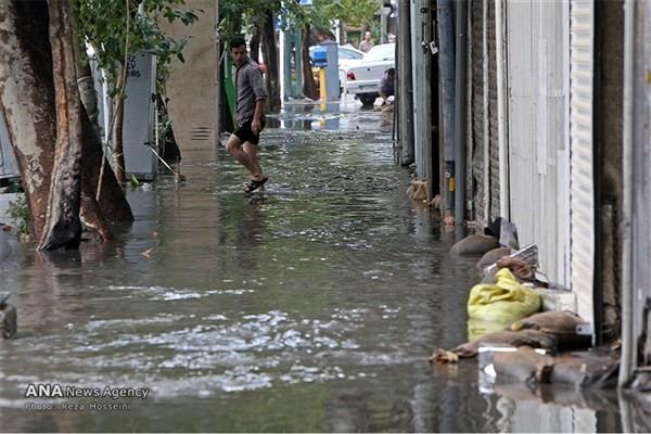 هشدار سازمان هواشناسی درباره طغیان رودخانه ها و آبگرفتگی معابر