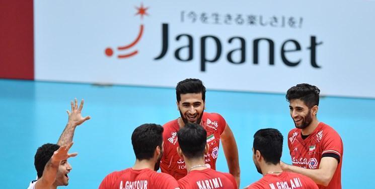 جام جهانی والیبال، ایران 3 - استرالیا 1