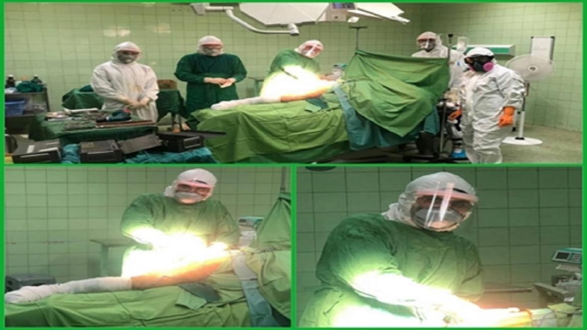 جراحی جوان مبتلا به کرونا توسط رییس هیات امنای صرفه جویی ارزی