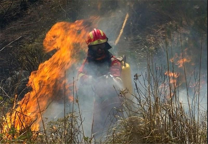 بزرگترین آتش سوزی اسپانیا در 15 سال اخیر