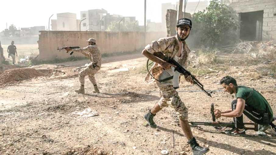 کشمکش بازیگران خارجی در جنگ نیابتی در لیبی