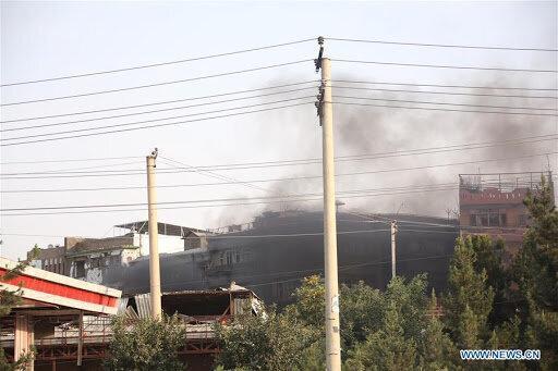 حمله به یک بیمارستان در کابل