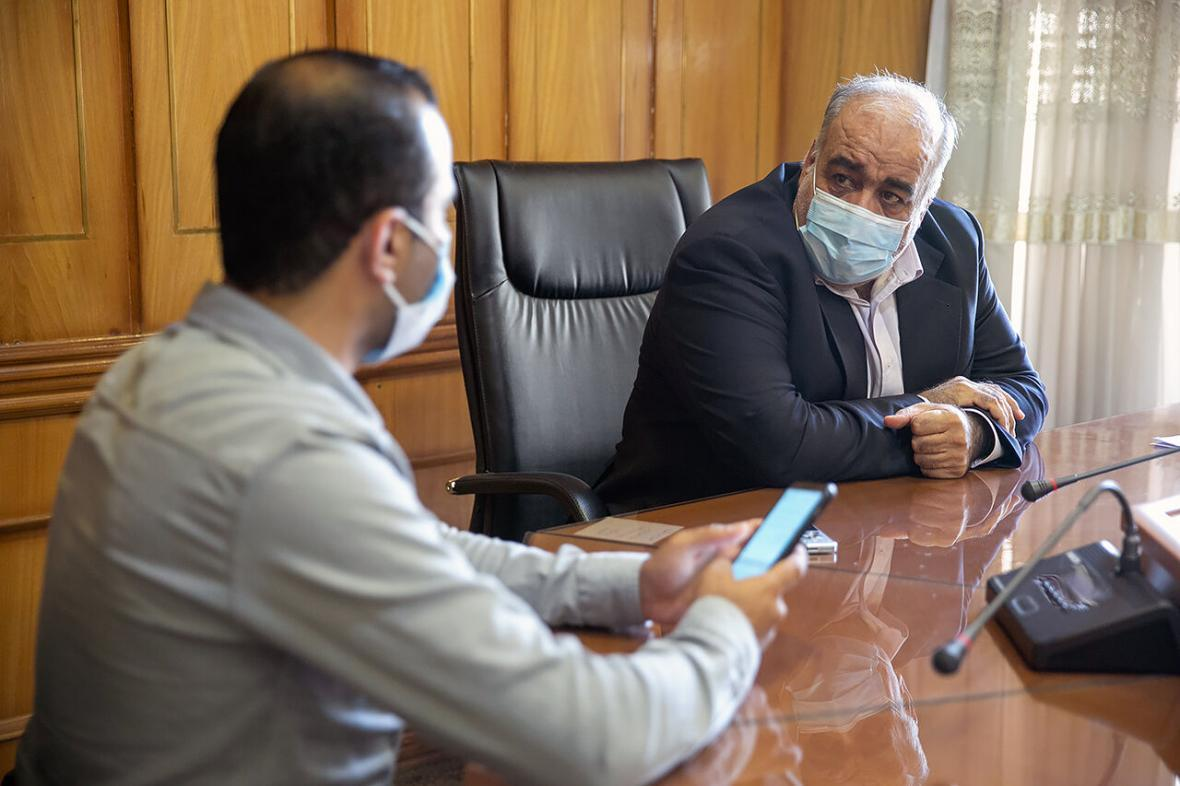 خبرنگاران استاندار کرمانشاه: تصمیمات جدی تری برای مقابله با کرونا می گیریم