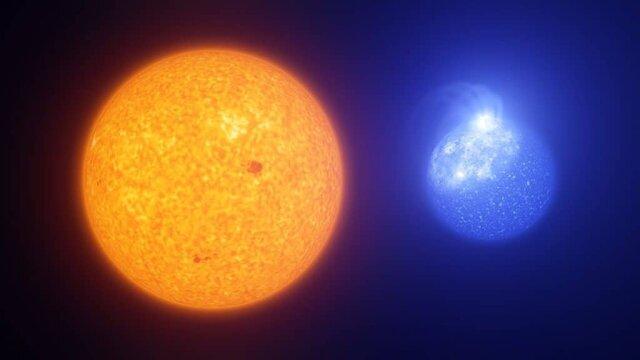 کشف لکه های بزرگ روی ستاره های داغ