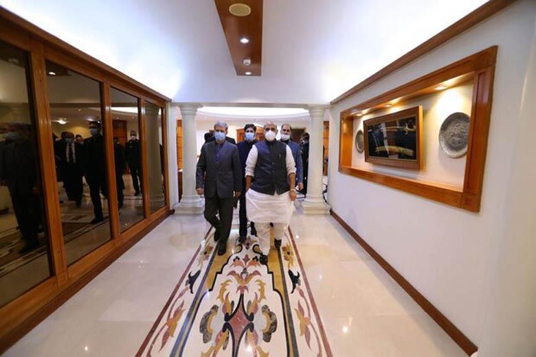 وزرای دفاع هند و ایران ملاقات کردند