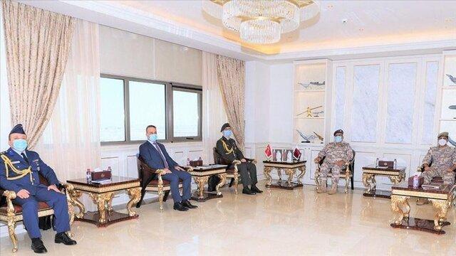 مقامات قطر و ترکیه درباره روابط نظامی ملاقات کردند