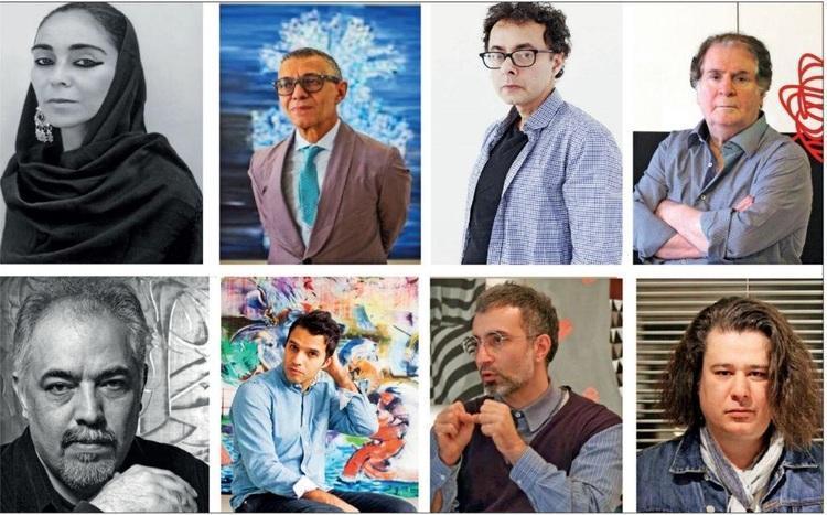 8 ایرانی در فهرست 1000 هنرمند برتر قرن 21