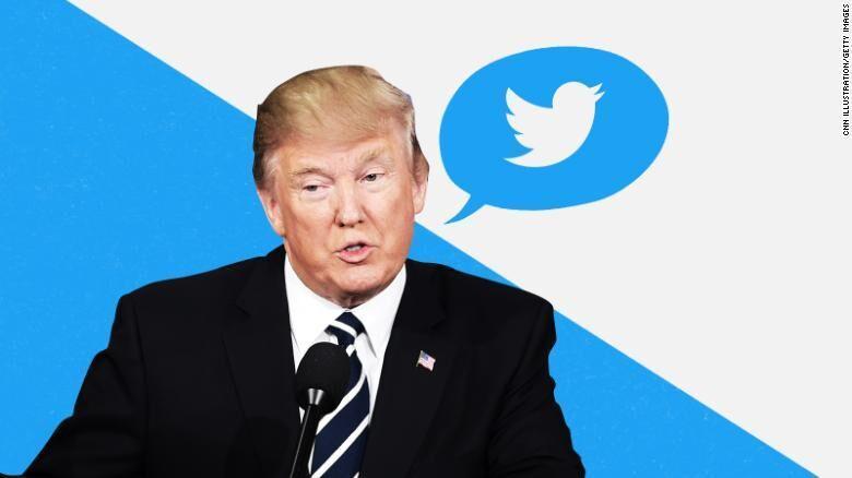 کارت زرد توئیتر به ترامپ در دقیقه 90