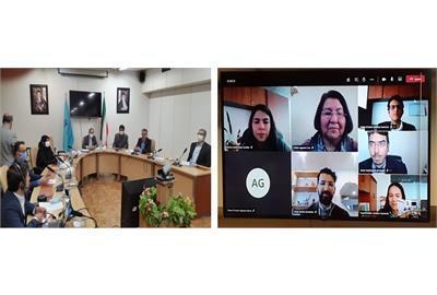 نشست تخصصی کارگروه مشترک همکاری های وزارت تعاون، کار و رفاه اجتماعی ایران و مکزیک برگزار شد