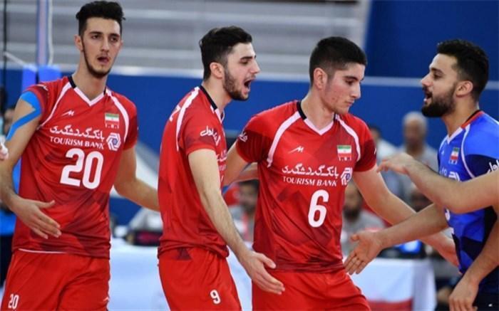 ملاقات جوانان ایران و برزیل در فهرست مسابقات جذاب FIVB