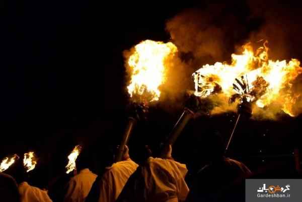 واکاکوسا یامایاکی؛ فستیوال سوزاندن کوه در ژاپن، عکس