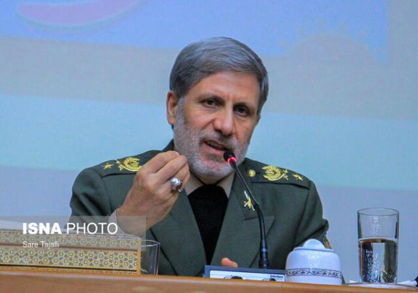 حضور وزیر دفاع در کمیسیون امنیت ملی مجلس